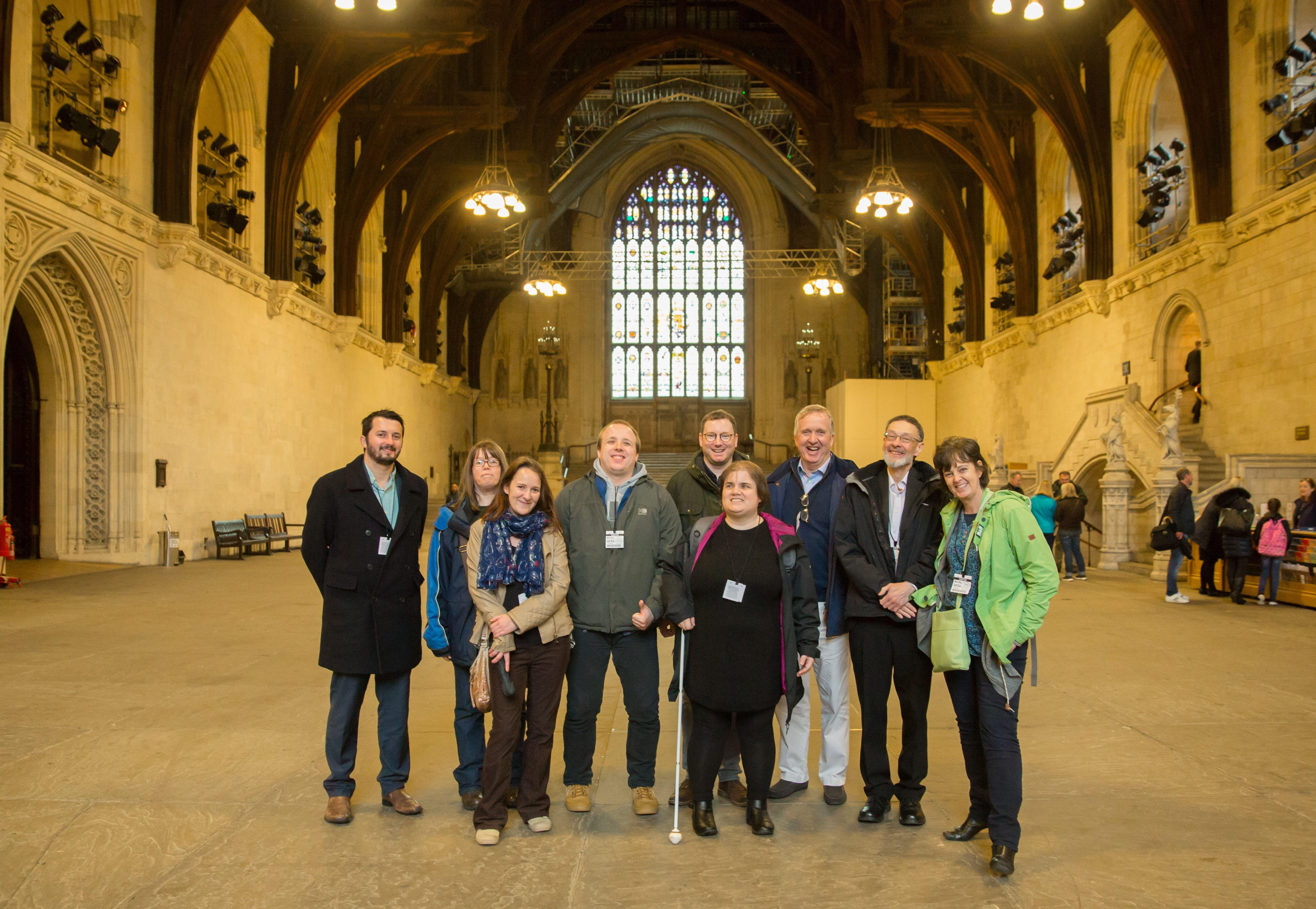 Our GEM Participant Council Members visit the Houses of Parliament