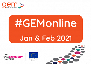 #GEMonline timetable for January & February